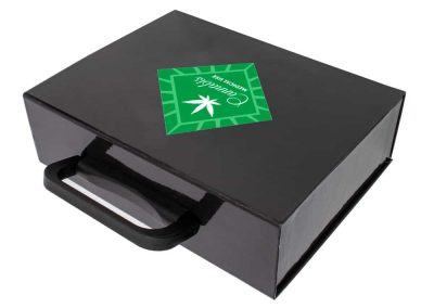 Cannabis Box Set with Inserts and Handle