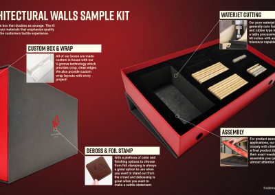 Architectural Walls Sample Kit
