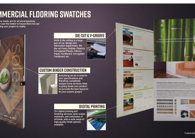 Commercial Flooring Swatches
