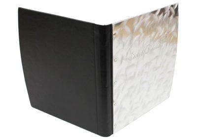 Aluminum-leather-binder-outside
