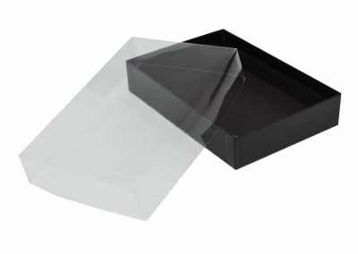 Paperboard-Box-Clear-Lid-open